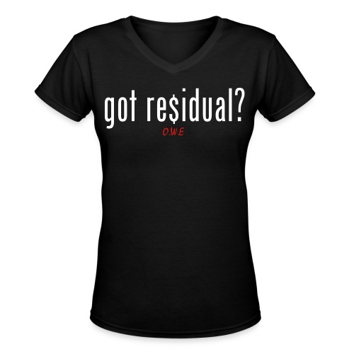 [WOMEN] Residual V-Neck T-Shirt - Women's V-Neck T-Shirt