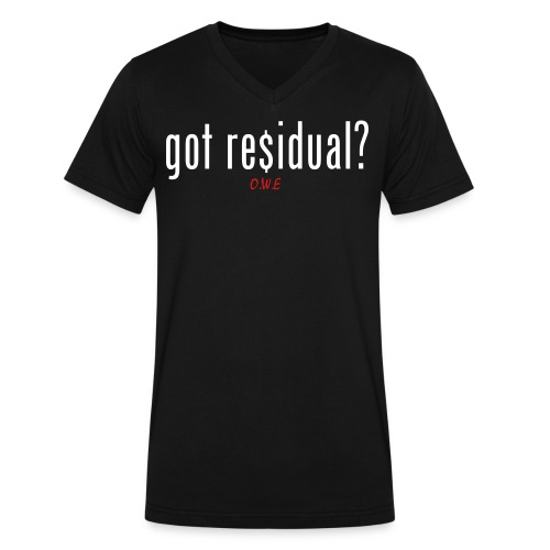 [MEN] Residual V-Neck T-Shirt - Men's V-Neck T-Shirt by Canvas