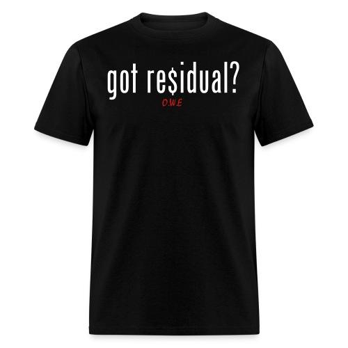 [MEN] Residual T-Shirt - Men's T-Shirt