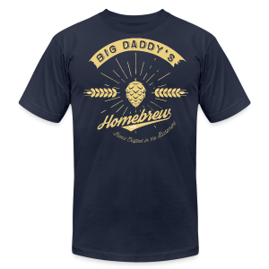 Big Daddy's Homebrew - Men's Fine Jersey T-Shirt
