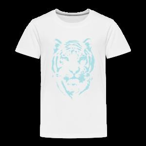 Airbrush Tiger LtBlu