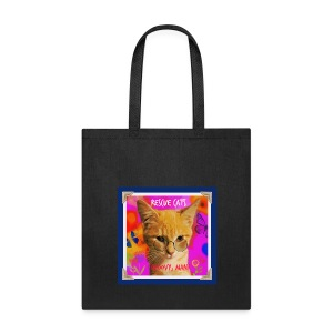 Rescue Cats Are Groovy tote bag - Tote Bag