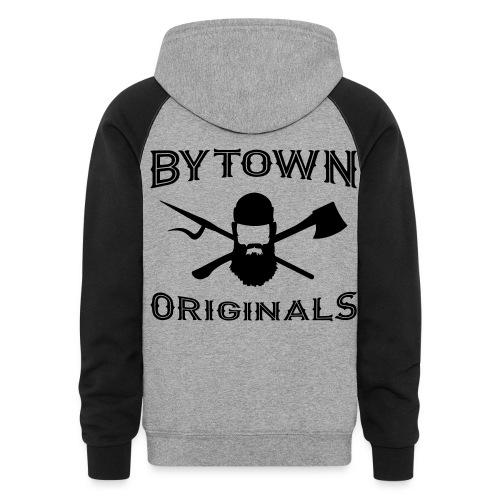 Bytown Originals Hoodie - Colorblock Hoodie