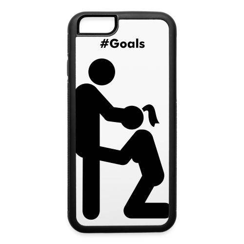 Goals iPhone 6/6s case - iPhone 6/6s Rubber Case
