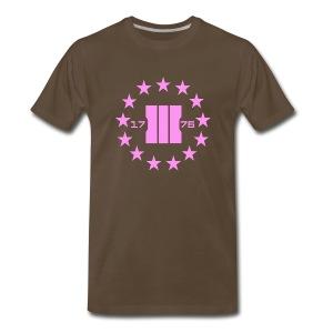 Three Percent Patriots - Men's Premium T-Shirt