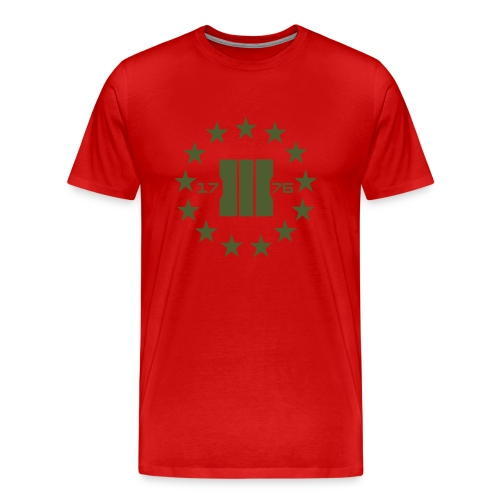 Three Percent Patriots - Men's Premium T-Shirt