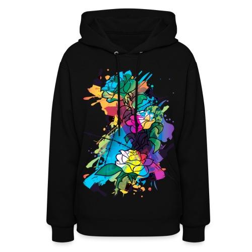 Black hoodies Pint boom - Women's Hoodie