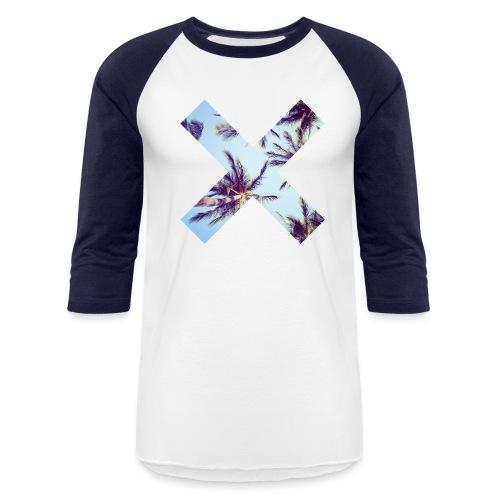 RoyaltyMindset Palms-X Raglans T-Shirt - Baseball T-Shirt