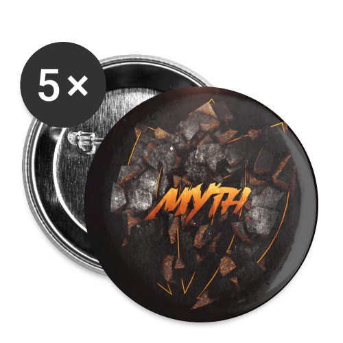 Myth Big Buttons - Buttons large 2.2'' (5-pack)