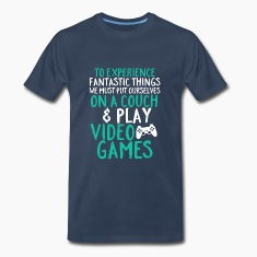 Funny Geek T-shirt Fantastic Gaming Experience