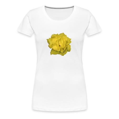 Yellow Rose - Women's Premium T-Shirt