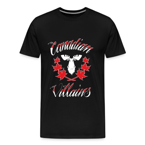 Canadian Villains Tee-Blk - Men's Premium T-Shirt
