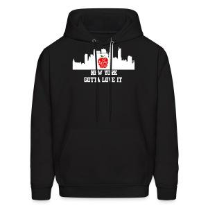NYC hoodie - Men's Hoodie
