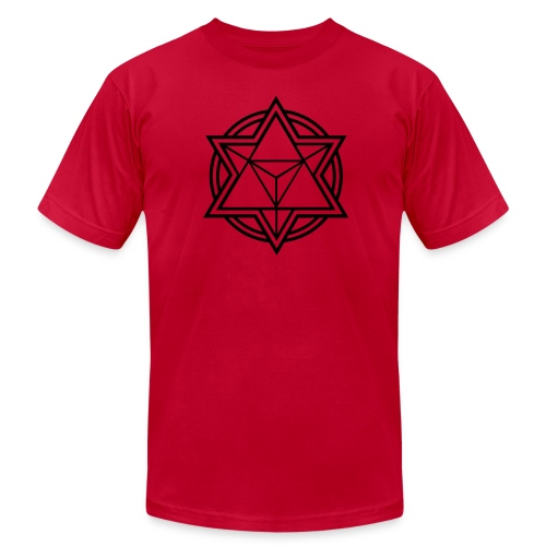 Mens Standard Merkaba Music Logo Tee - Men's  Jersey T-Shirt