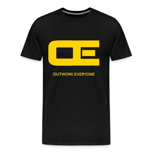Outwork Everyone - men's tee 2 - Men's Premium T-Shirt
