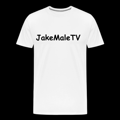 Simple 'JakeMaleTV- T-Shirt - Men's Premium T-Shirt