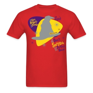 ...Because Hats Don't Sort Kids... (Red) Adult - Men's T-Shirt