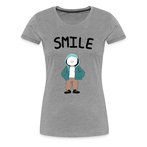Hector Smiles - Women's Premium T-Shirt