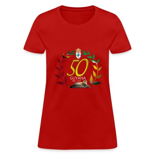 Guyana's 50th - Women's T-Shirt