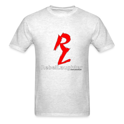 Men's Rebel Laughter Red Logo Tee - Men's T-Shirt