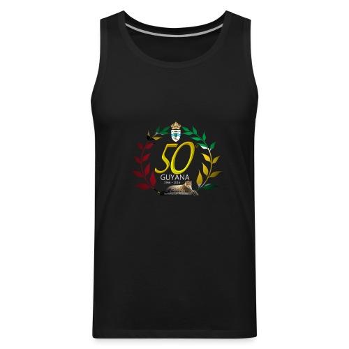 Guyana's 50th - Tank - Men's Premium Tank