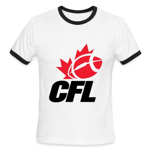 CFL Logo t-shirt - Men's Ringer T-Shirt