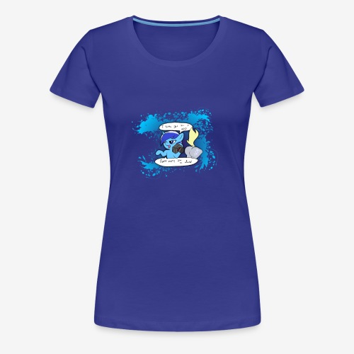 Women's Premium T-Shirt - If you gotta have your photos in HDD, you might as well rock them too!  One of Many References: https://www.youtube.com/watch?v=pd8hZ93FkhE