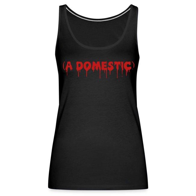 A Domestic - Glitter - Women's Premium Tank Top