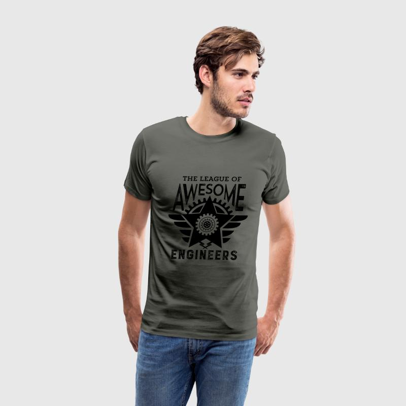 Cool Engineering T-shirt League Awesome Engineers - Men's Premium T-Shirt