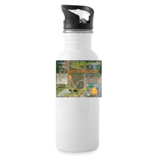 Survivor Hydration Knowledge Bottle - Water Bottle
