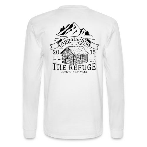 The Refuge - Long Sleeve WHITE - Men's Long Sleeve T-Shirt