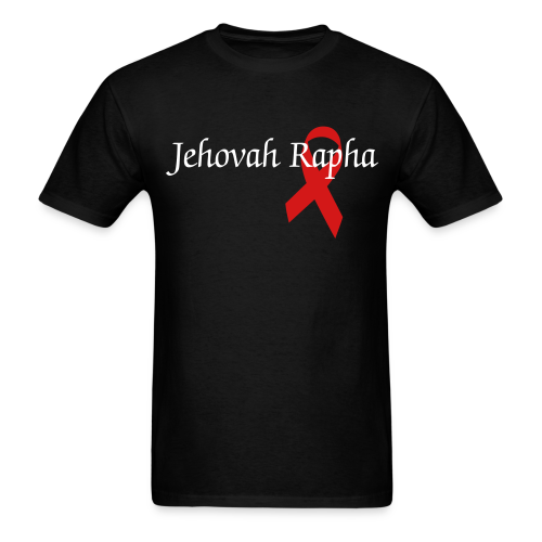 Jehovah- Rapha(red) - Men's T-Shirt