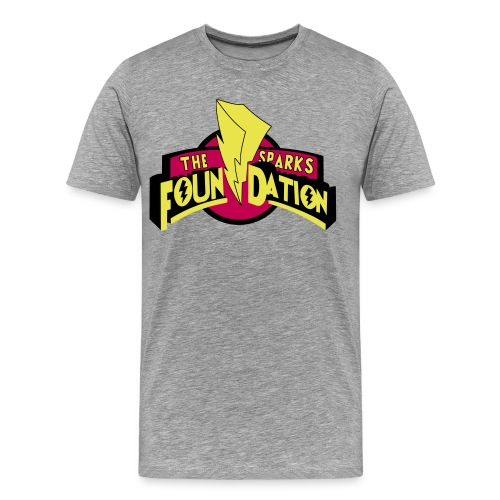 Mighty Morphin Sparks Foundation Tee - Men's Premium T-Shirt