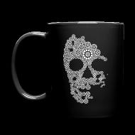 Mugs & Drinkware ~ Full Color Mug ~ White Skull Mug