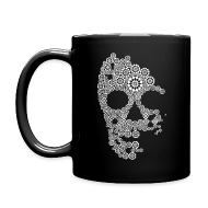 Mugs & Drinkware ~ Full Color Mug ~ White Skull Mug