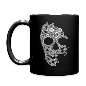 White Skull Mug - Full Color Mug