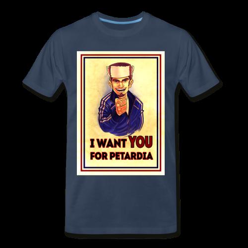 Uncle Petard - Men's Premium T-Shirt