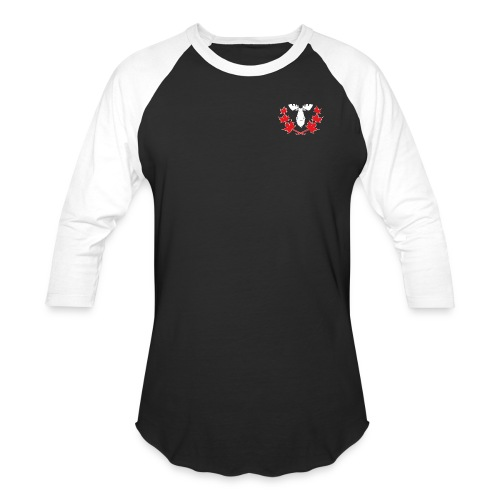 Canadian Villains Raglan-Blk/Wht - Baseball T-Shirt
