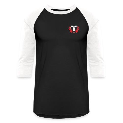 Canadian Villains Raglan-Blk/Wht - Baseball T-Shirt