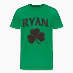Ryan Irish Shamrock Family Heritage T-Shirts