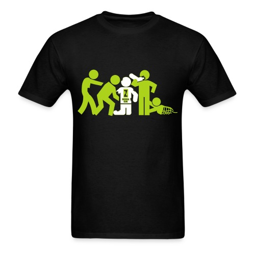 Coolest Victim in the Zombie Horde - Men's T-Shirt