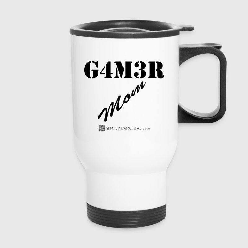 Funny Gamer Mom mug - Travel Mug