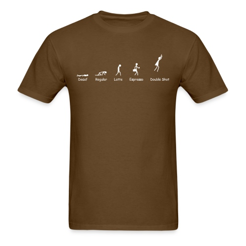 Bean of Progress - Men's T-Shirt