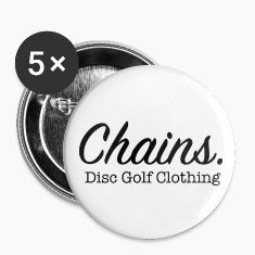 Chains Disc Golf Clothing Buttons