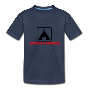 Effing Campers - Kids' Premium T-Shirt