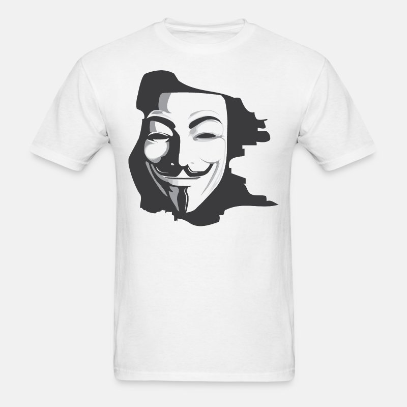 Anonymous for White - Men's T-Shirt