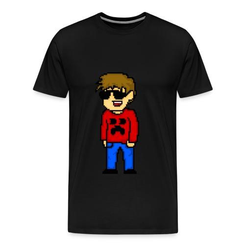 Reditor PixelArt - Men's Premium T-Shirt