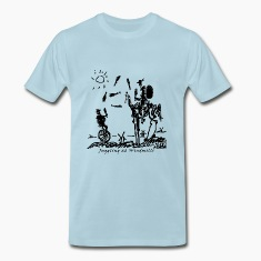 Juggling at Windmills (on Mens Spreadshirt brand)