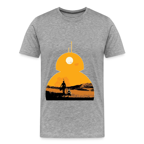 BB-8 & Rey - Men's Premium T-Shirt