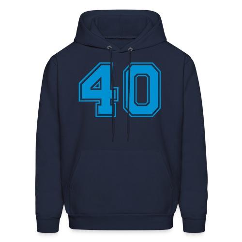 Plain 40 Club Sweatshirt - Men's Hoodie